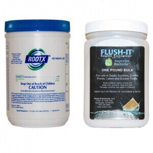 "RootX 2 Lb and 1 Pound Bulk Flush-It ""Combo Pack"""